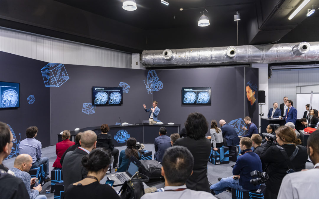 The Artificial Intelligence Exhibition (AIX) made a successful debut at ECR 2019