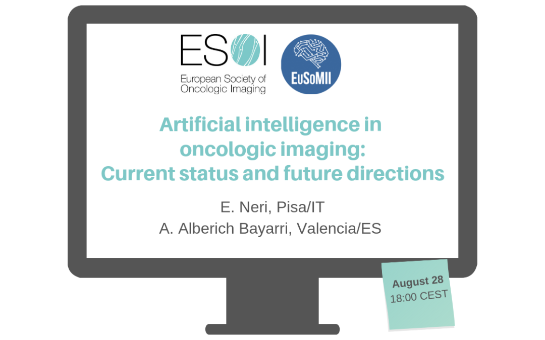 Webinar on current status and future directions of AI in oncologic imaging
